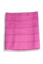 "5 Band 3 Elastic Knit High Waist Skirt"""