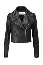 Varie Leather Stud Jacket