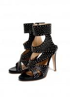 Cylia Leather Heels