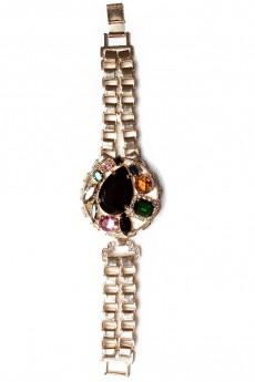 Dynasty Jewel Cluster Watch Strap Bracelet